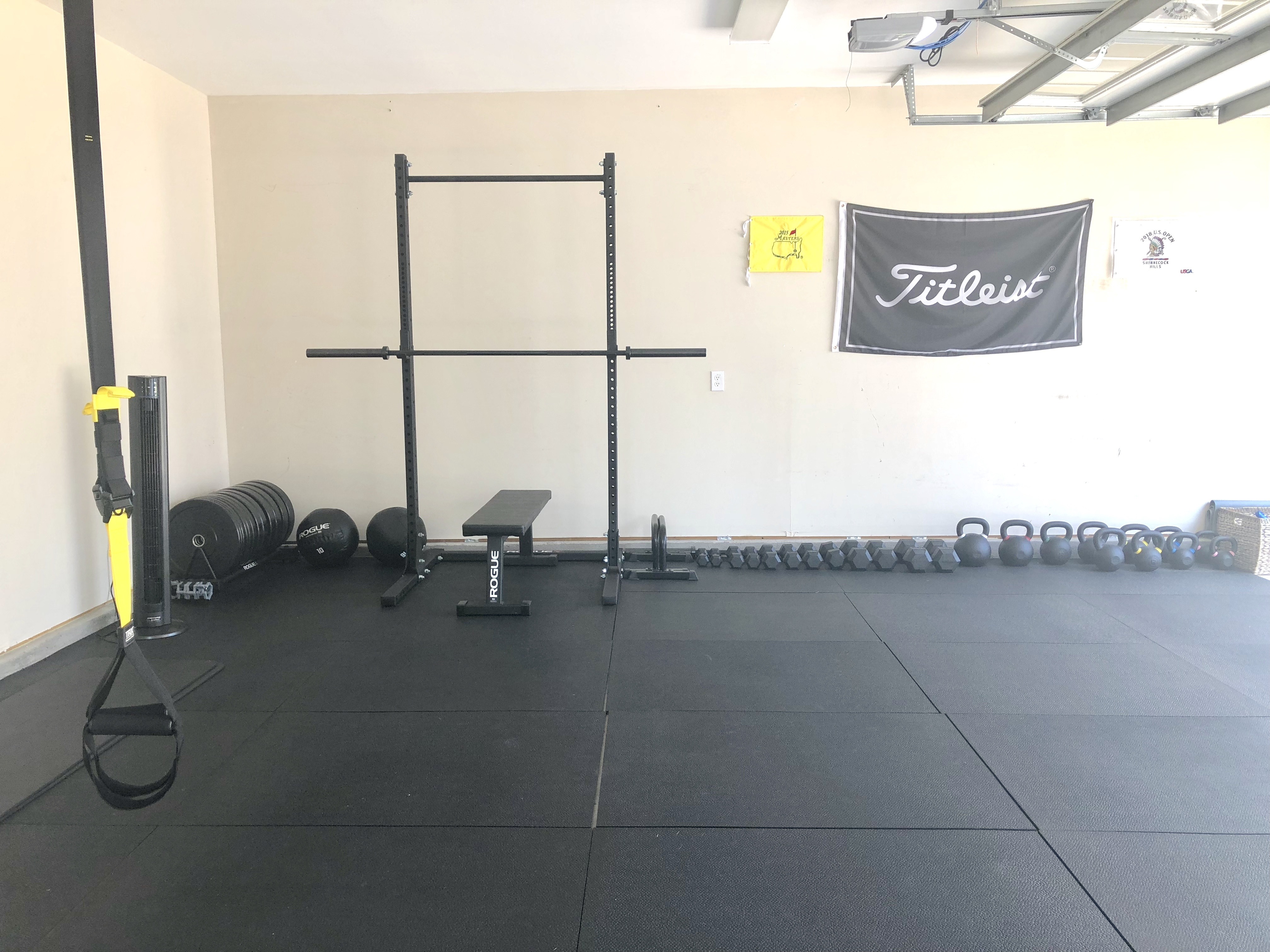 Building a garage gym crossfit open goal youtube