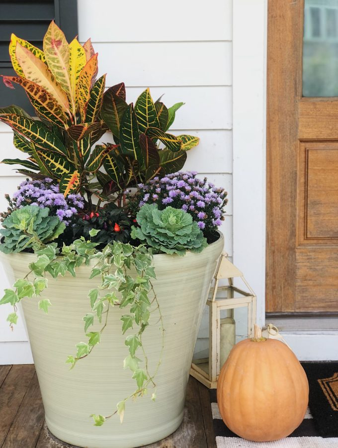 Our Fall Planters