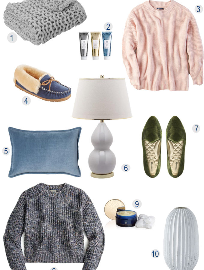 Cozy Sweaters and Blankets and Pillows, Oh My!