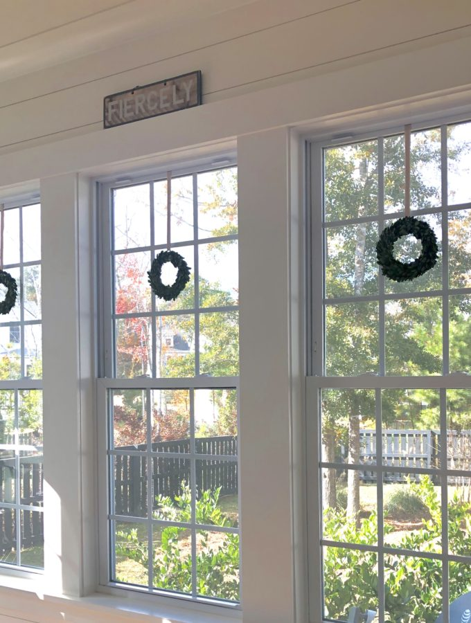 How To Hang A Window Wreath