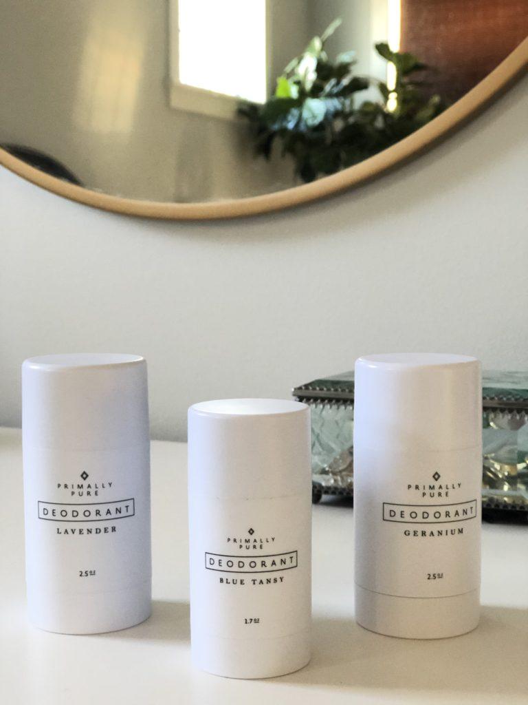 Natural skincare nontoxic living safe deodorant