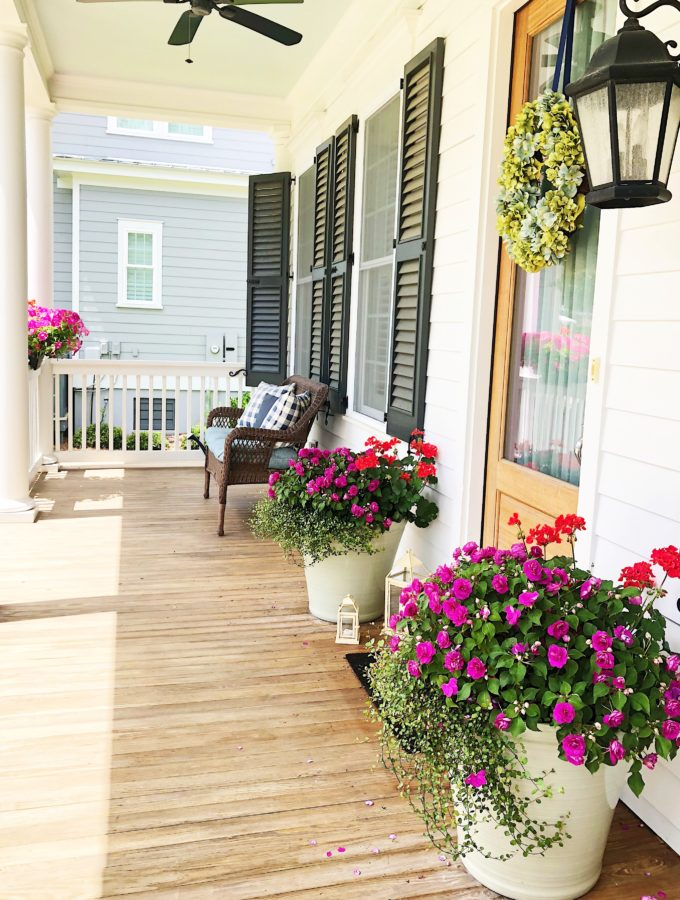 Pretty Planters for Your Porch (or indoors!)