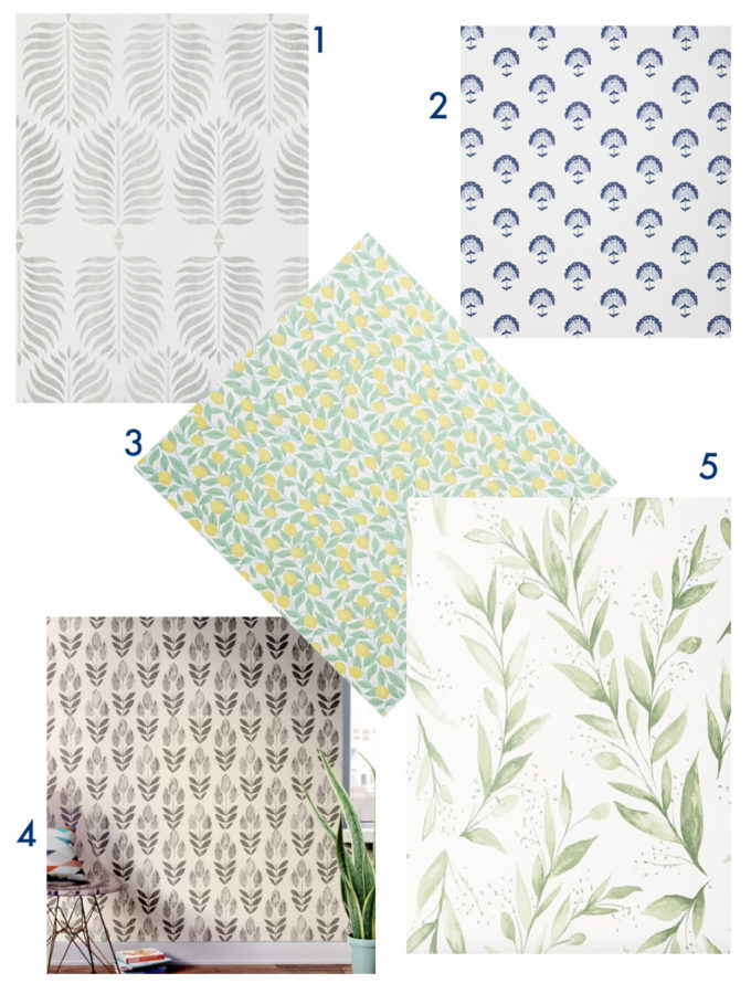 5 Wallpaper Prints I'm Loving Right Now