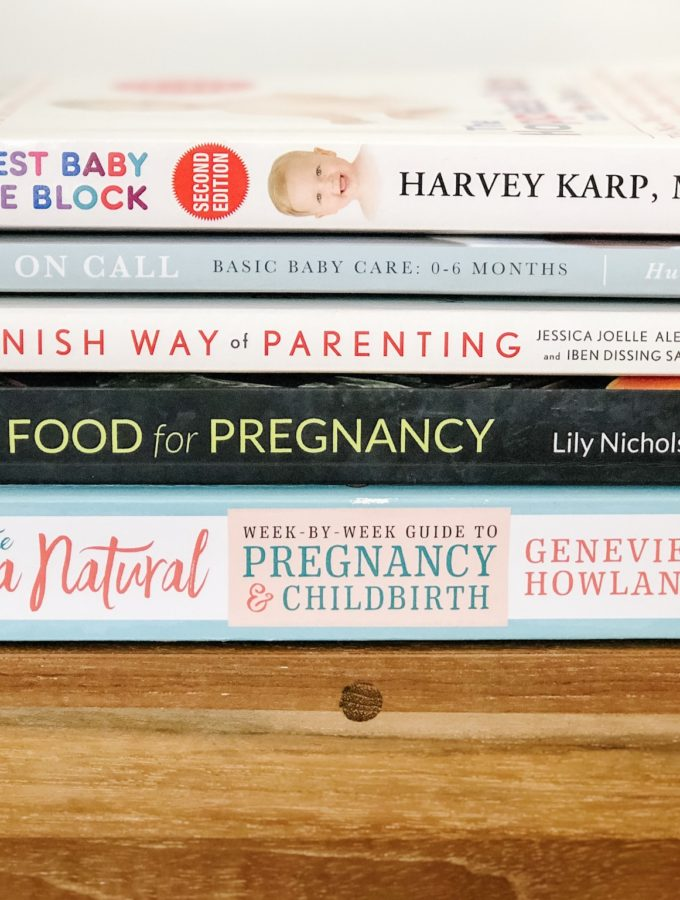 Our Favorite Pregnancy + Parenting Books